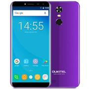 "(1013425) Смартфон Oukitel C8 4G Purple 5,5"" / 1280x640 / MediaTek MT6580 / 16 Гб / 2 Гб / 4G / 13 МП + 5 МП / Android 7.0 / 3000 мА⋅ч"