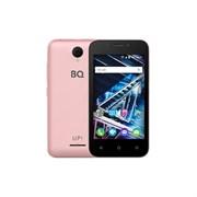"""(1013406) Смартфон BQ-4028 UP! Розовое Золото 4"""" / 800x480 / MediaTek MT6570 / 8 Гб / 512 Мб / 3G / 5 МП+2 МП / Android 6.0 / 1500 мА⋅ч"""