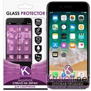(1013488) Стекло защитное на две стороны Krutoff Group 0.26mm для iPhone 7/8