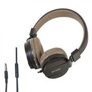 (1013474) Наушники Gorsun GS-779 (brown) с микрофоном