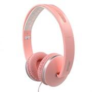 (1013471) Наушники Gorsun GS-785 (pink) с микрофоном и регулятором громкости