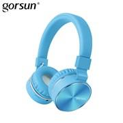 (1013461) Гарнитура bluetooth Gorsun E87 (blue)