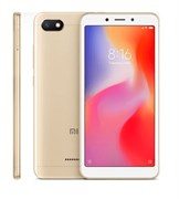 (1013507) Смартфон Xiaomi Redmi 6A 2/16GB Gold (M1804C3CG), 5.45'' 1440x720, 2.0GHz, 4 Core, 2GB RAM, 16GB, up to 256GB flash, 13Mpix/5Mpix, 2 Sim, 2G, 3G, LTE, BT v4.2, Wi-Fi, GPS, Glonass, Micro-USB, 3000mAh, 145g, 147.5x71.5x8.3