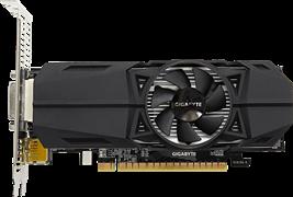 (1013542) Видеокарта Gigabyte PCI-E GV-N1050OC-3GL nVidia GeForce GTX 1050 3072Mb 96bit GDDR5 1404/7008 DVIx1/HDMIx2/DPx1/HDCP Ret