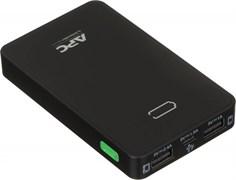 (1013562) Мобильный аккумулятор APC PowerPack M5BK-EC Li-Pol 5000mAh 2.4A+1A черный 2xUSB
