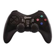 (1013635) Беспроводной геймпад Oxion OGPW03BK с вибрацией, 2408 Ghz, USB/PS2/PS3 приёмник, чёрный (OGPW03BK) (20)