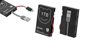 (1013620) USB-хаб OXION черный, на 3 порта+кабель micro B, USB 2.0 (OHB006BK)(200)