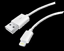 (1013676) USB кабель Lightning Krutoff Classic (1m) белый