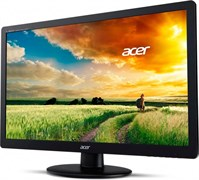 "(1013704) Монитор ACER 18.5"" EB192Qb LED, 1366x768, 5 ms, 200 cd/m2, 90/65, 16,7mln, 100M:1, D-Sub, VESA(75x75), Black"