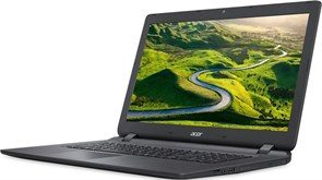 "(1013696) Ноутбук Acer Aspire ES1-732-C078 Celeron N3350, 4Gb, 500Gb, DVD-RW, Intel HD Graphics 500, 17.3"", HD+ (1600x900), Linux, black, WiFi, BT, Cam, 3220mAh"
