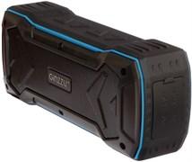 (1013899) Портативная беспроводная колонка Ginzzu GM-874В (2х5Вт, 150Гц-18КГц, 1200мАч, Handsfree, AUX, USB-flash, TF-card, FM-радио, waterproof-IPX4)