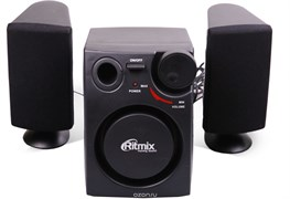 (1013845) Акустическая система 2.1 RITMIX SP-2100 Black (6 Вт., AUX, регулятор громкости, питание USB)
