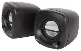 (1013841) Акустическая система 2.0 RITMIX SP-2030 Black (5 Вт., AUX, регулятор громкости, питание USB)