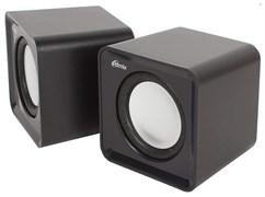 (1013837) Акустическая система 2.0 RITMIX SP-2020 Black (5 Вт., AUX, регулятор громкости, питание USB)