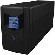 (1013810) Источник бесперебойного питания Ippon Back Power Pro LCD 800 480Вт 800ВА черный