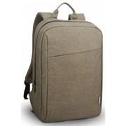 "(1013743) Рюкзак для ноутбука 15.6"" Lenovo B210 зеленый полиэстер (GX40Q17228)"