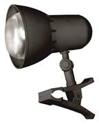 (1010797) Светильник настольный Трансвит NADEZHDA1MINI/BL на прищепке лампа накаливания E27 черный 40Вт