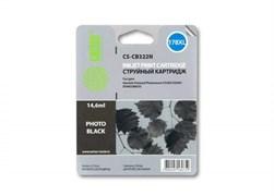 (1013522) Картридж струйный Cactus CS-CB322N CS-CB322 №178XL фото черный (14.6мл) для HP PS B8553/C5383/C6383/