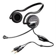 (1013967) Наушники с микрофоном Plantronics A345 черный 2.5м накладные (37855-02)