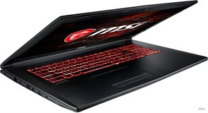 "(1013964) Ноутбук MSI GL72M 7RDX-1486XRU Core i5 7300HQ, 8Gb, 1Tb, nVidia GeForce GTX 1050 2Gb, 17.3"", TN, FHD (1920x1080), Free DOS, black, WiFi, BT, Cam"