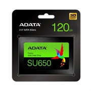 (1013961) Накопитель SSD A-Data SATA III 120Gb ASU650SS-120GT-R Ultimate SU650 2.5""