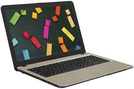 "(1013958) Ноутбук Asus VivoBook X540NA-GQ008T Pentium N4200, 4Gb, 500Gb, Intel HD Graphics 505, 15.6"", HD (1366x768), Windows 10, black, WiFi, BT, Cam"