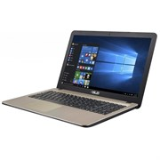 "(1013956) Ноутбук Asus VivoBook X540NA-GQ005 Celeron N3350, 4Gb, 500Gb, Intel HD Graphics 500, 15.6"", HD (1366x768), Endless, black, WiFi, BT, Cam"
