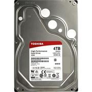 "(1013947) Жесткий диск Toshiba SATA-III 4Tb HDWE140UZSVA X300 (7200rpm) 128Mb 3.5"""