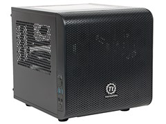 (1013941) Корпус Thermaltake Core V1 черный без БП miniITX 1x200mm 2xUSB3.0 audio bott PSU
