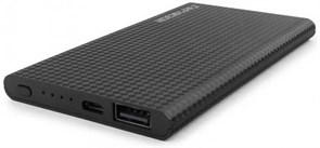 (1013997) Портативный аккумулятор Гарнизон GPB-105, 5000 мА/ч, 1 USB, 1A, черный
