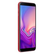 "(1014007) Смартфон Samsung Galaxy J6+ (2018) SM-J610F 32Gb 3Gb красный 3G 4G 2Sim 6"" TFT 720x1480 And8.1 13Mpi"