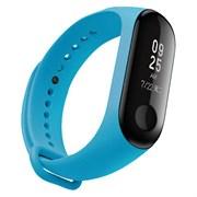 (1014055) Аксессуар для фитнес-гарнитуры STRAP MI BAND 3 BLUE 34606 BORASCO