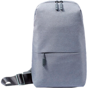 (1014082) Xiaomi Рюкзак Mi City Sling Bag  (светло-серый) DSXB01RM [ZGB4070GL/ZJB4070GL]