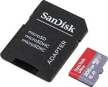 (1014195) Карта памяти MICRO SDXC 200GB UHS-I W/A SDSQUAR-200G-GN6MA SANDISK