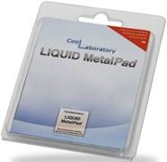 (164675)  Термоинтерфейс Coollaboratory Liquid MetalPad CL-MP-1G, 1 пластина для GPU (20x20 мм)