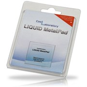 (164674)  Термоинтерфейс Coollaboratory Liquid MetalPad CL-MP-1C, 1 пластина для CPU (38x38 мм)