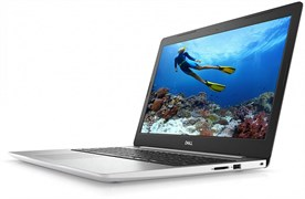 "(1014259) Ноутбук Dell Inspiron 5575 Ryzen 5 2500U, 8Gb, 1Tb, DVD-RW, AMD Radeon Vega 8, 15.6"", FHD (1920x1080), Windows 10, white, WiFi, BT, Cam"