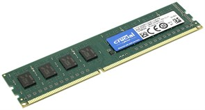 (1014256) Память DDR3L 4Gb 1600MHz Crucial CT51264BD160BJ RTL PC3-12800 CL11 DIMM 240-pin 1.35В
