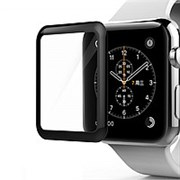 (1014268) Стекло защитное Full Cover 3D для Apple Watch 4 (40mm)