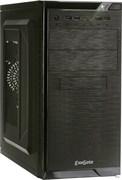 (1014295) Exegate EX272745RUS Корпус Minitower Exegate QA-412U Black, mATX, <XP400, Black, 120mm>, 2*USB+2*USB3.0, Audio
