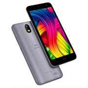"(1014337) Смартфон Digma Linx Base 4G 8Gb 1Gb серый 3G 4G 2Sim 5.34"" TFT 480x960 And8.1 8Mpix 802.11 a/b/g/n B"