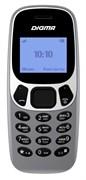 "(1014328) Мобильный телефон Digma A105N 2G Linx 32Mb темно-серый 1.44"" TN 68x96"