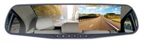 (1014308) Видеорегистратор Digma FreeDrive 303 MIRROR DUAL черный 1.3Mpix 1080x1920 1080p 120гр. GP2248