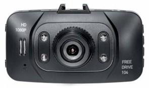 (1014305) Видеорегистратор Digma FreeDrive 104 черный 1Mpix 1080x1920 1080p 140гр. GP1248