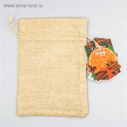 Мешочек подарочный «Счастья в Новом году», 13 × 18 см