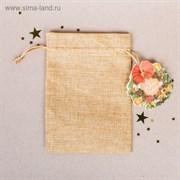 Мешочек подарочный «Новогодний венок», 13 × 18 см