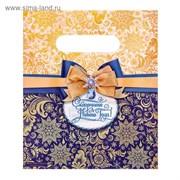 Пакет подарочный полиэтиленовый «Сказочного Нового года», 17 × 20 см