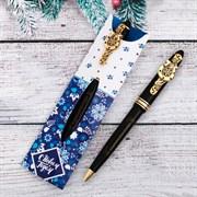 """Ручка в конверте """"С Новым Годом.Гжель"""", 4,5 х 15,5 см   3346862"""
