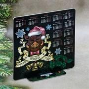 """Календарь на подставке """"Крутого Нового Года!"""", 15 х 15,2 см   3630384"""