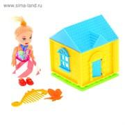 МИЛАШКА Дом с куклой малышкой и аксессуарами, МИКС 898833